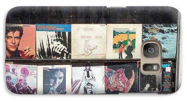 Record Store Burlington Vermont Galaxy S7 Case by Edward Fielding