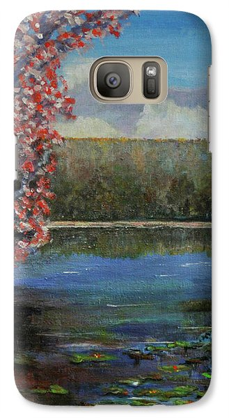 Galaxy Case featuring the painting Recovery by Dottie Branchreeves
