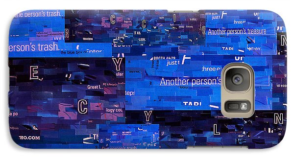Galaxy Case featuring the digital art Recycling by Shawna Rowe
