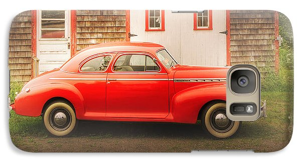Galaxy Case featuring the photograph Red 41 Coupe by Craig J Satterlee