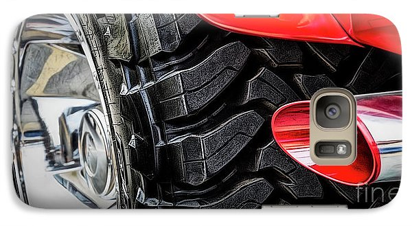 Galaxy Case featuring the photograph Red 4x4 by Brad Allen Fine Art