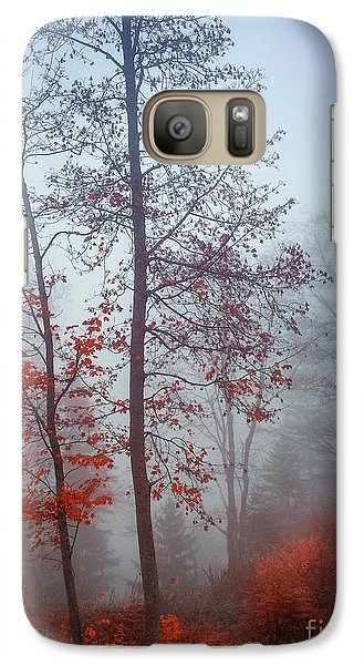 Galaxy Case featuring the photograph Red And Blue by Elena Elisseeva