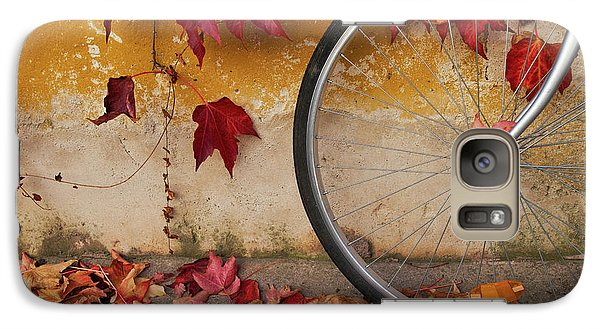 Galaxy Case featuring the photograph Red Autumn by Yuri Santin