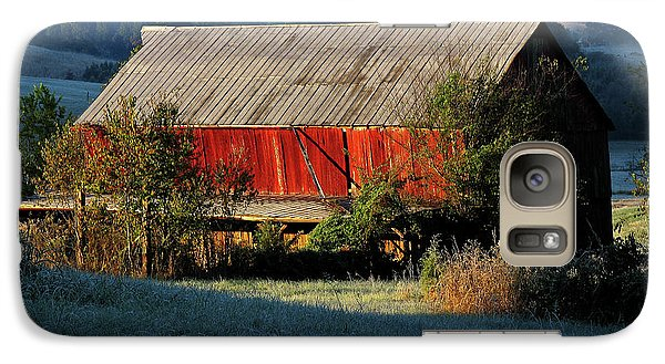 Galaxy Case featuring the photograph Red Barn by Douglas Stucky