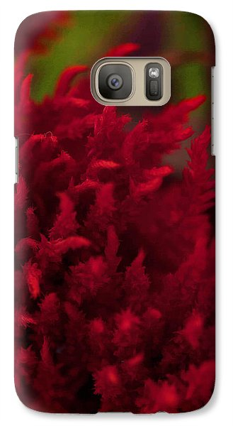 Galaxy Case featuring the photograph Red Beauty by Cherie Duran