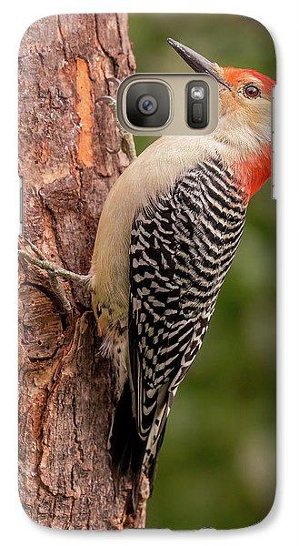 Red Bellied Woodpecker 3 Galaxy S7 Case