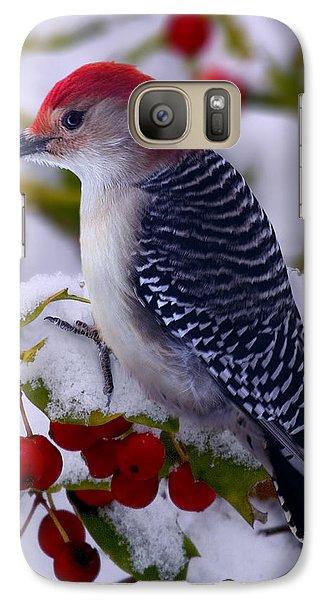 Red Bellied Woodpecker Galaxy S7 Case