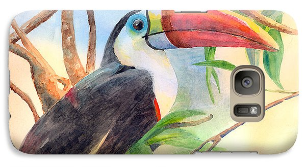 Red-billed Toucan Galaxy S7 Case by Arline Wagner