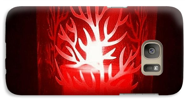 Red Candle Light Galaxy S7 Case