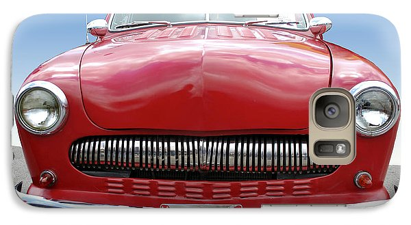 Galaxy Case featuring the photograph Red Car by Bill Thomson