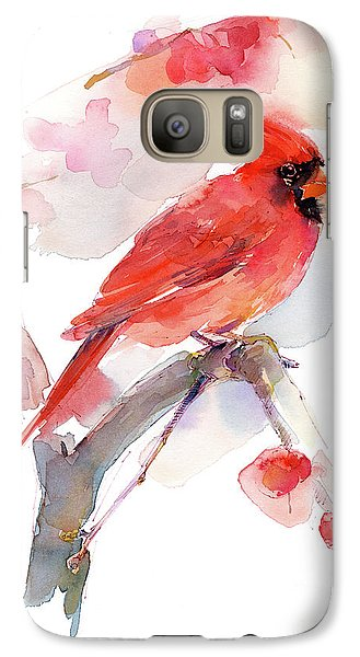 Red Cardinal Galaxy S7 Case