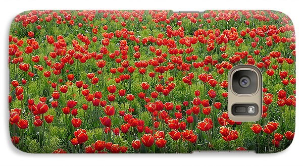 Galaxy Case featuring the photograph Red Carpet by Tom Vaughan