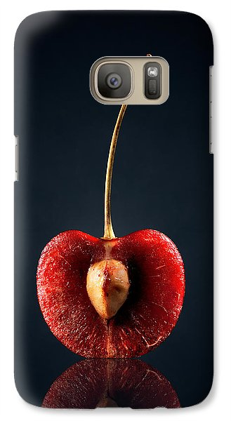 Fruits Galaxy S7 Case - Red Cherry Still Life by Johan Swanepoel