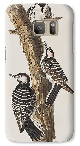Red-cockaded Woodpecker Galaxy S7 Case by John James Audubon