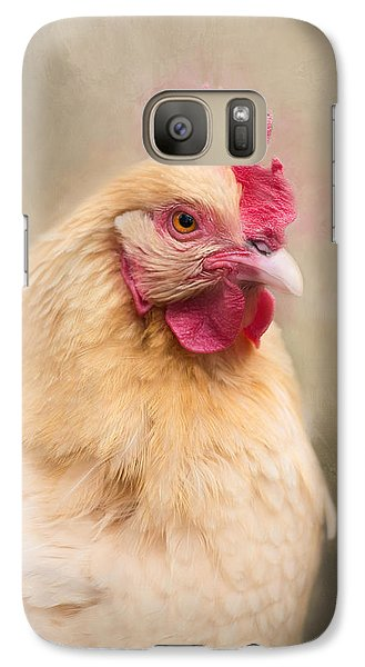 Galaxy Case featuring the photograph Red Comb by Robin-Lee Vieira