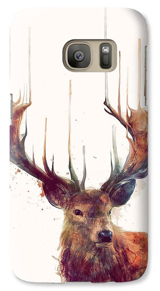 Animals Galaxy S7 Case - Red Deer by Amy Hamilton
