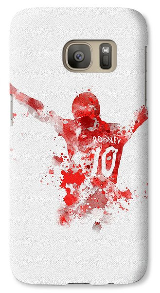 Red Devil Portrait Galaxy S7 Case
