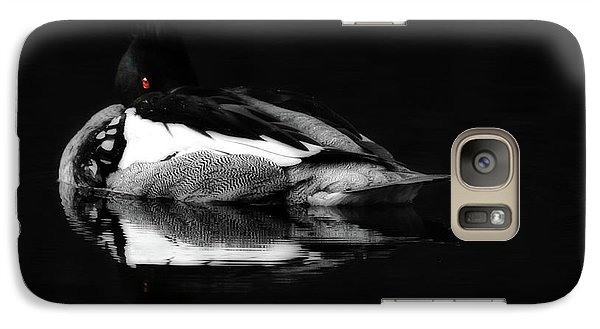 Red Eye Galaxy S7 Case by Lori Deiter