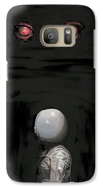 Red Eyes Galaxy S7 Case