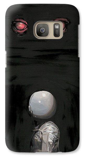 Science Fiction Galaxy S7 Case - Red Eyes by Scott Listfield