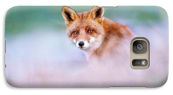 Red Fox In A Mysterious World Galaxy S7 Case