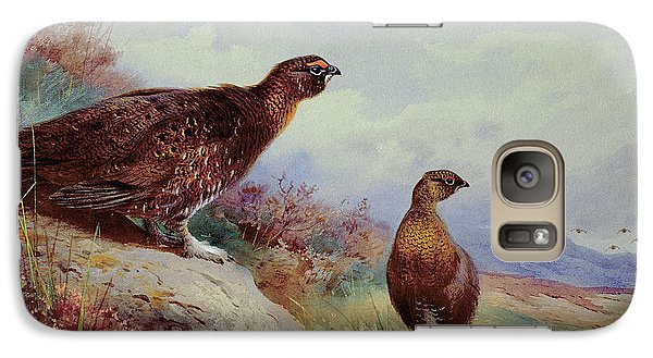 Red Grouse On The Moor, 1917 Galaxy S7 Case
