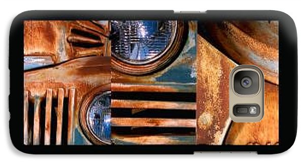 Galaxy Case featuring the photograph Red Head On by Steve Karol