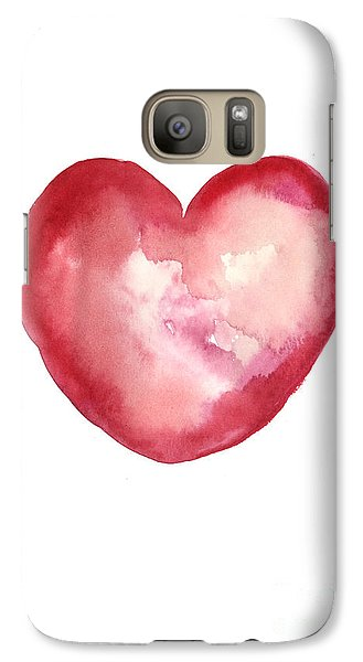 Red Heart Valentine's Day Gift Galaxy S7 Case
