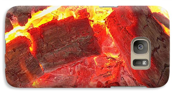 Galaxy Case featuring the photograph Red Hot by Betty Northcutt