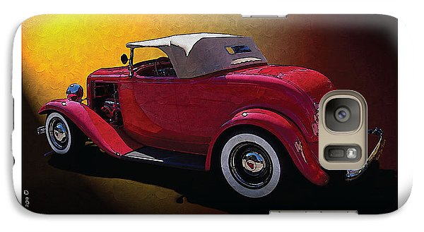 Galaxy Case featuring the photograph Red Hot Rod by Kenneth De Tore
