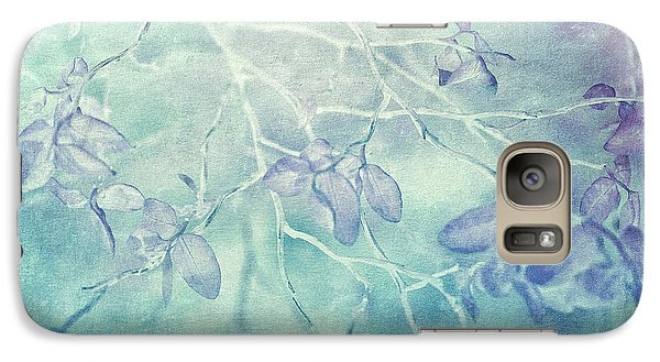 Galaxy Case featuring the photograph Red Huckleberry Blues  by Connie Handscomb