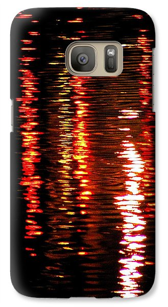 Galaxy Case featuring the photograph Red Light by David Dunham