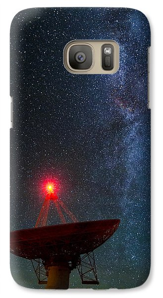 Galaxy Case featuring the photograph Red Light District by Sean Foster