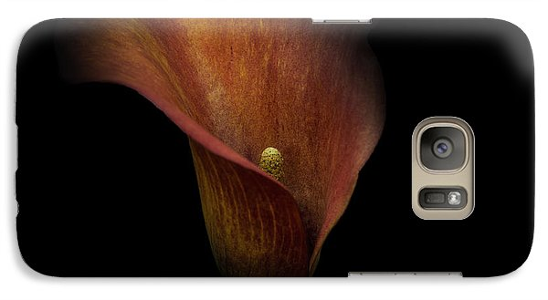 Galaxy Case featuring the photograph Red Lily by Ryan Photography