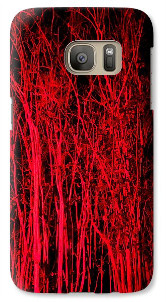 Galaxy Case featuring the digital art Red Magic by Doug Kreuger