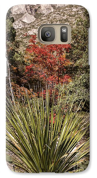 Galaxy Case featuring the photograph Red by Melany Sarafis