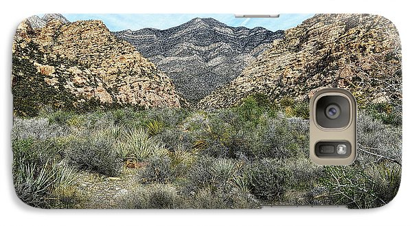 Galaxy Case featuring the photograph Red Rock Canyon - Nevada by Glenn McCarthy Art and Photography