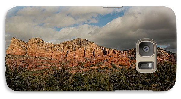 Galaxy Case featuring the photograph Red Rock Country Sedona Arizona 3 by David Haskett