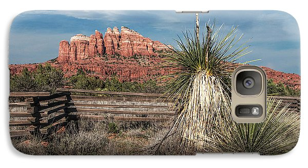 Galaxy Case featuring the photograph Red Rock Formation In Sedona Arizona by Randall Nyhof
