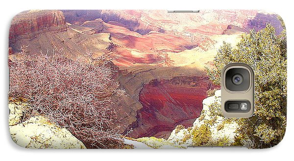 Galaxy Case featuring the photograph Red Rock by Marna Edwards Flavell