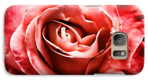 Galaxy Case featuring the photograph Red Rose  by Mariola Bitner