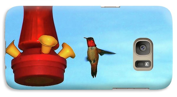 Galaxy Case featuring the photograph Red Ruby by Wendy McKennon