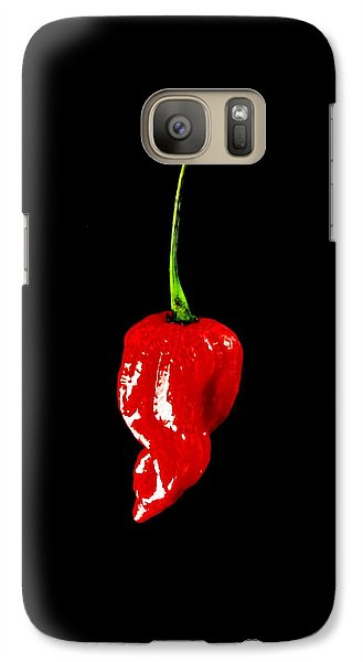 Galaxy Case featuring the photograph Red Scorpion Chilli Pepper by Michael Canning