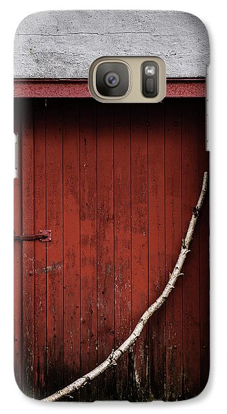 Galaxy Case featuring the photograph Red Square by Odd Jeppesen