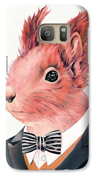 Red Squirrel Galaxy S7 Case by Animal Crew
