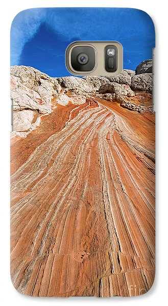 Galaxy Case featuring the photograph Red Stone Highway by Mike Dawson