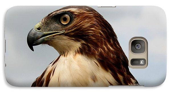 Galaxy Case featuring the photograph Red Tail Hawk 1 by David Dunham
