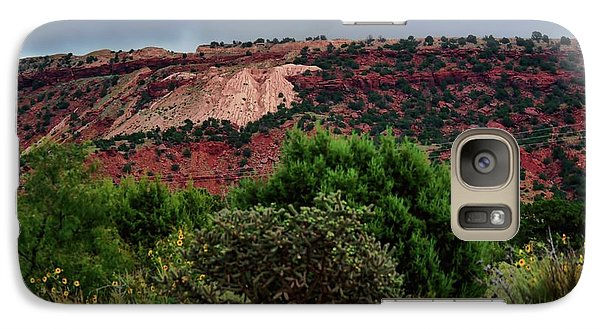 Galaxy Case featuring the photograph Red Terrain - New Mexico by Diana Mary Sharpton
