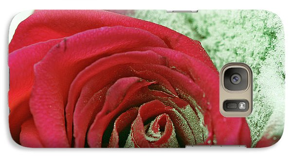 Galaxy Case featuring the digital art Red by Terry Foster