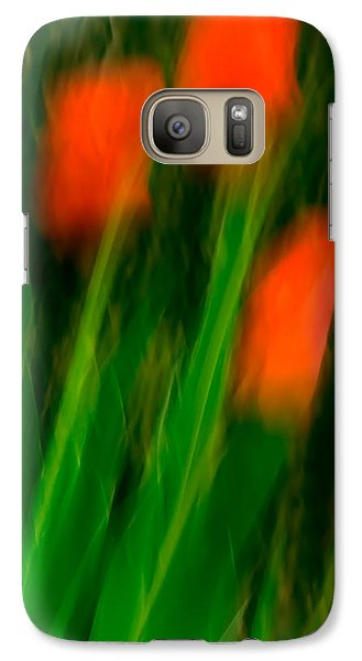 Red Tulips Galaxy S7 Case by  Onyonet  Photo Studios